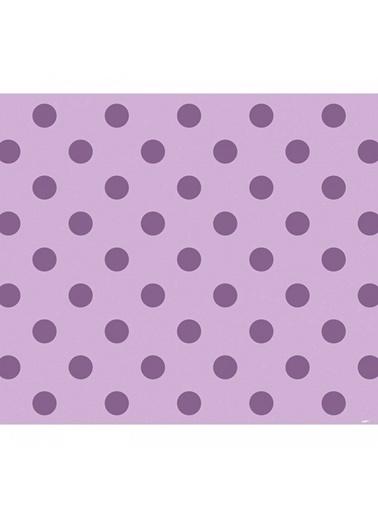 Artikel Mor Puantiye Desenli Masa Örtüsü 140x160cm Renkli